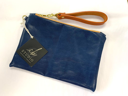 Created Beautifully Blue Emily Clutch