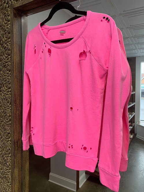 Chaser Neon Pink Pullover