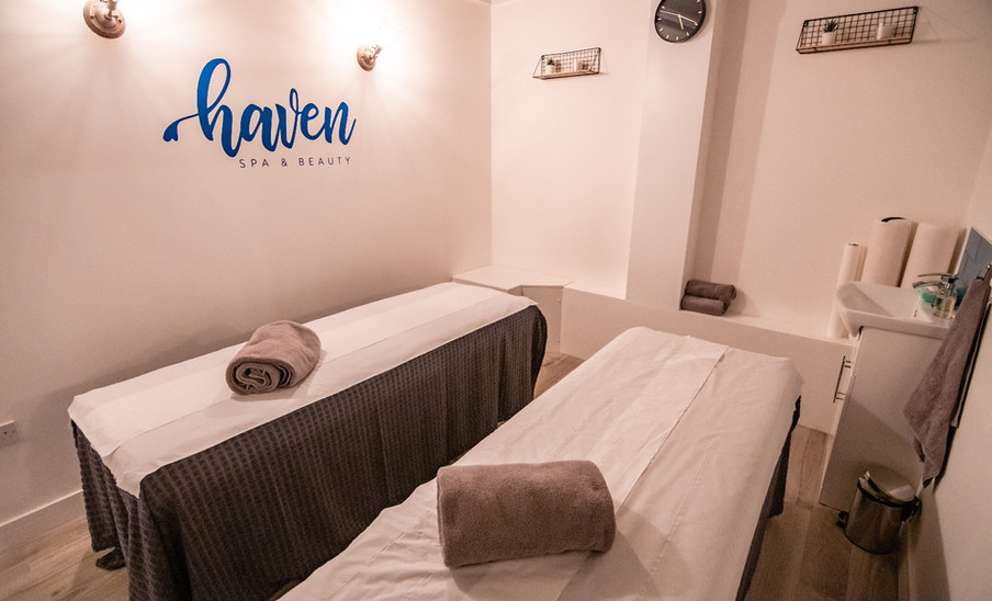 Haven Spa Treatment Room double