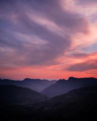 Langdale Sunset
