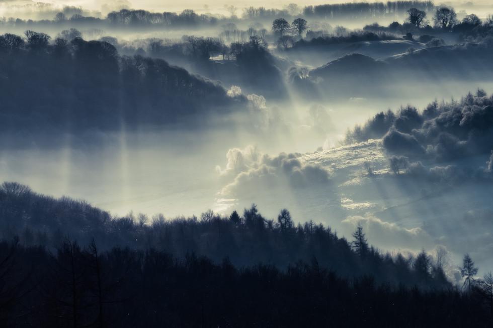 Misty Morning, Yorkshire