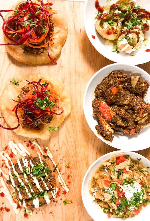 Chawk Bazar | South Asian Eatery | Toronto | Appetizer Platter