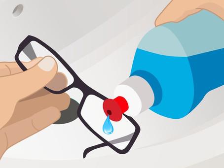 Como Limpiar mis gafas