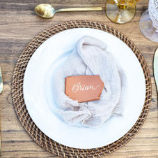 Terra Cotta Place Cards