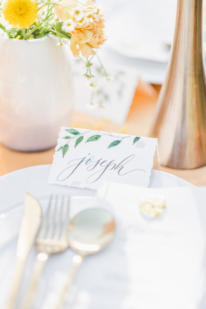 Hand Painted Place Cards