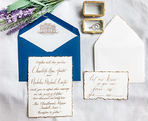Calligraphy- Wedding Invitation