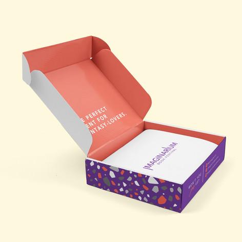 Box Design for Imaginarium Book Festival