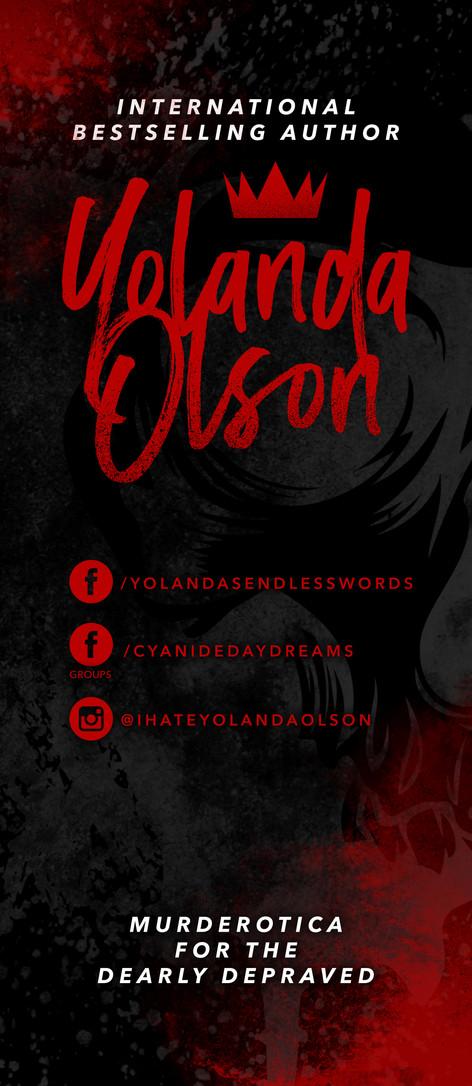 Yolanda Olson Event Banner Design