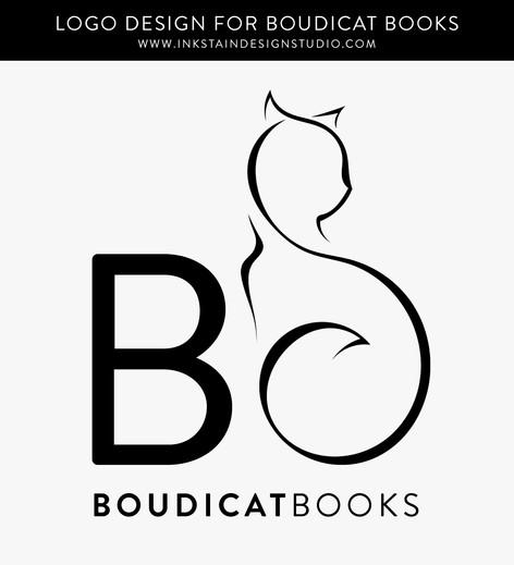 Logo Design for BoudiCat Books
