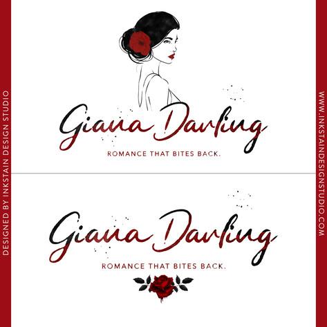 Logo Design for Author Giana Darling
