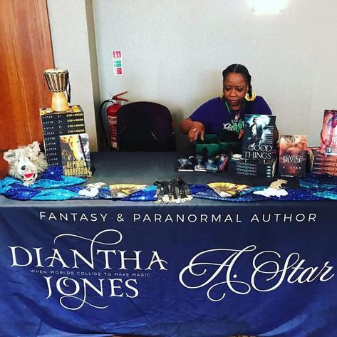 Tablecloth design for Diantha Jones / A. Star