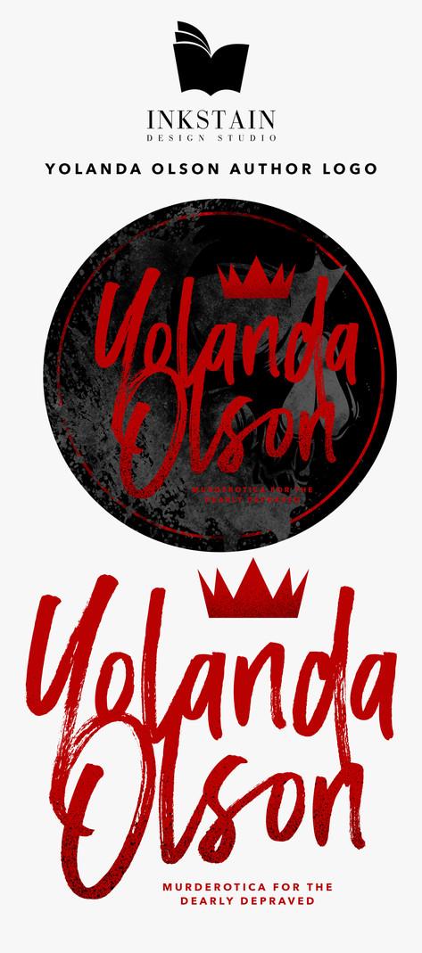 Yolanda Olson Author Logo Branding