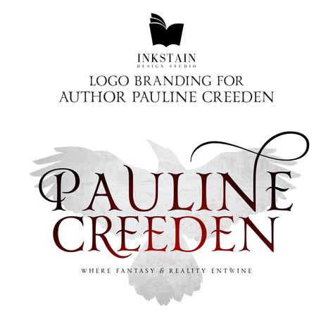 Logo Design for Author Pauline Creeden