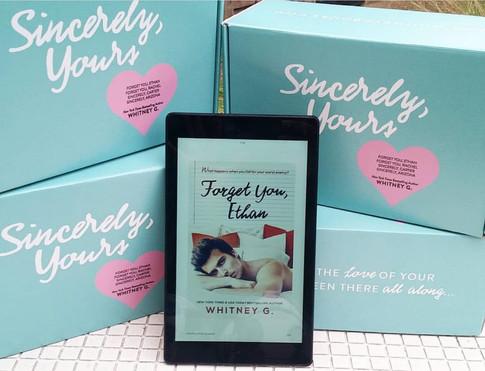 Box Design for author Whitney G.