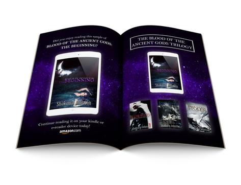 Booklet Design (author branding)