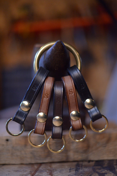 Belt Popper Keyring
