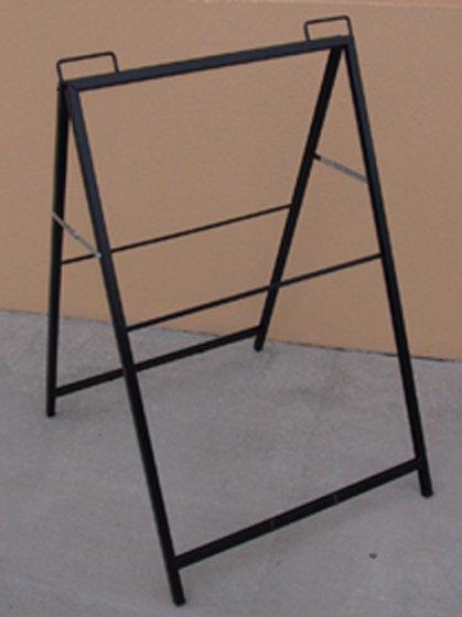 A-Frame - Black Frame Insertable Style