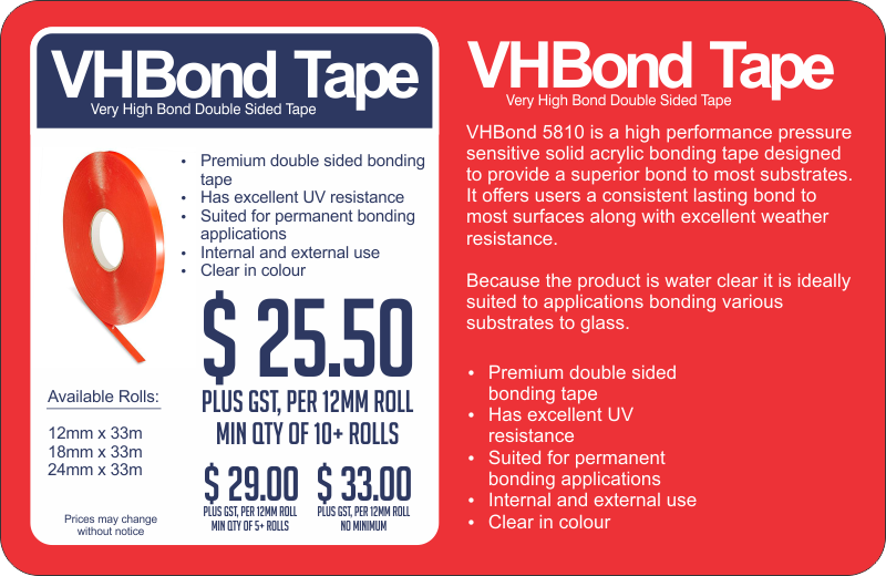 VHBond Tape web_red