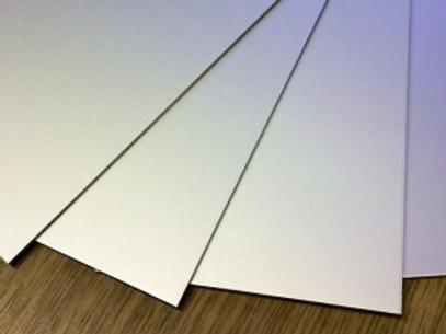 Aluminium Flat Sheet - Satin Natural Anodised