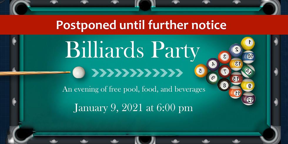 Billiards Party