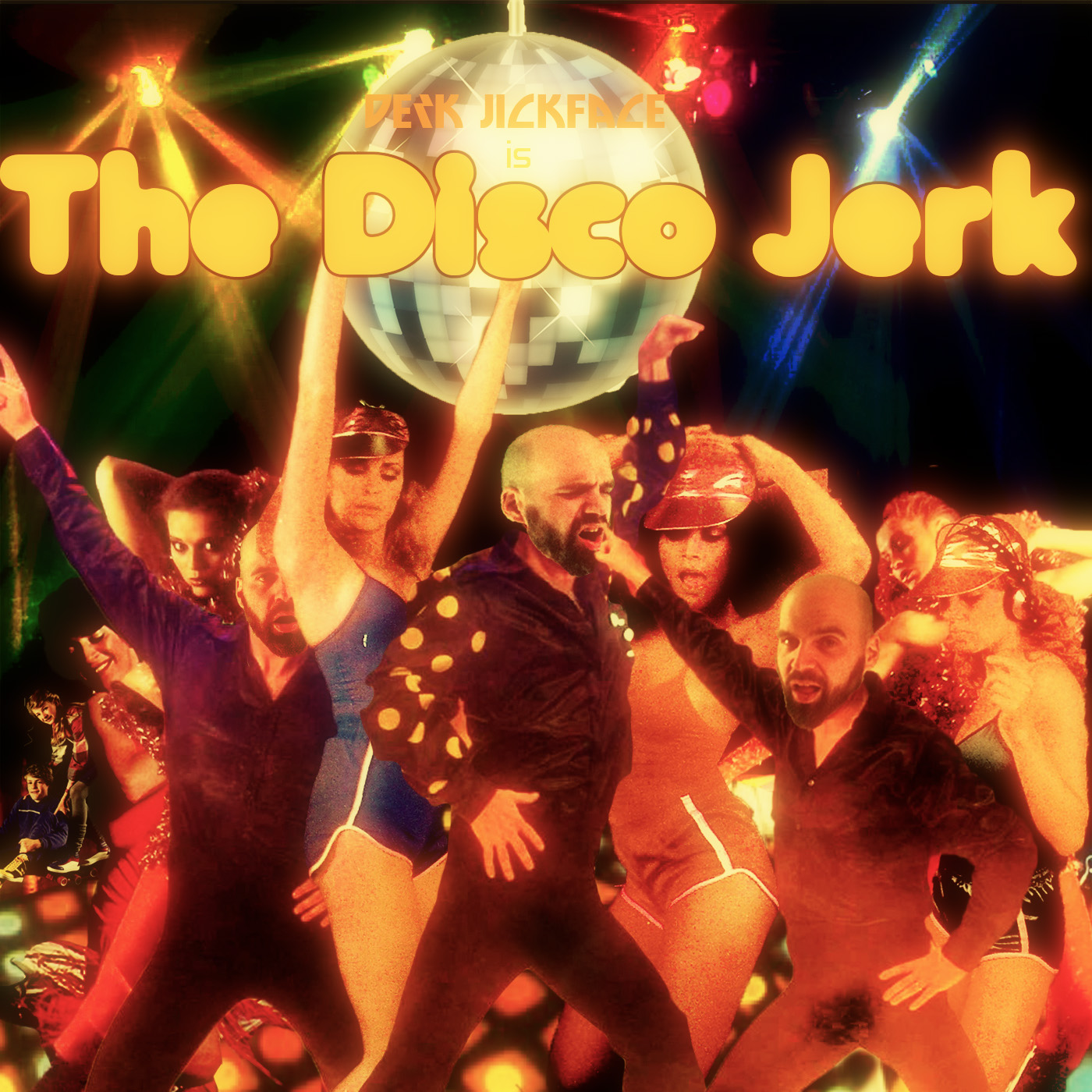 Disco Jerk Record Album Art
