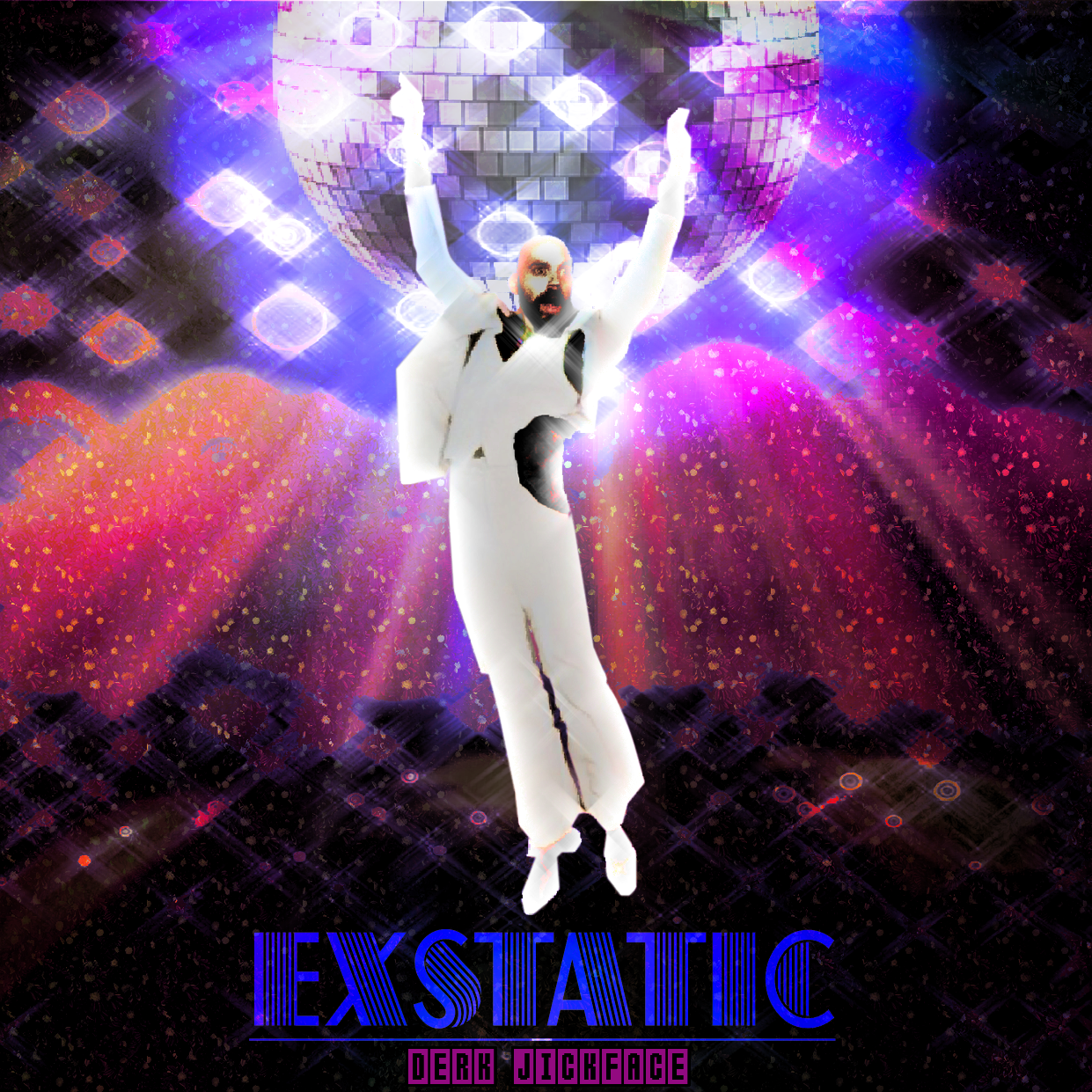 Album Cover design - Exstatic