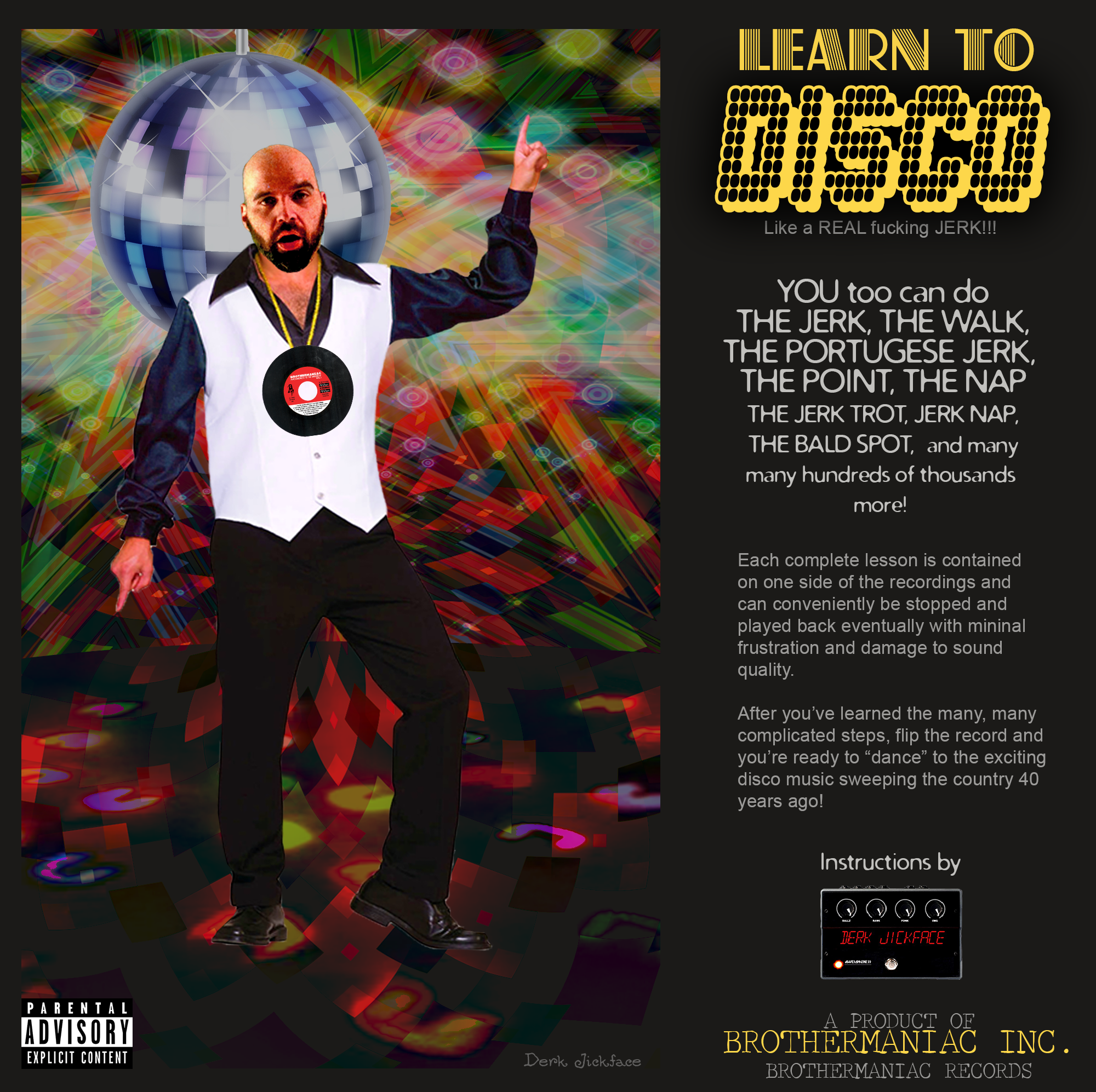 Learn To Disco Record Album Art
