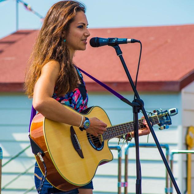 Live music at Herne Bay Pier
