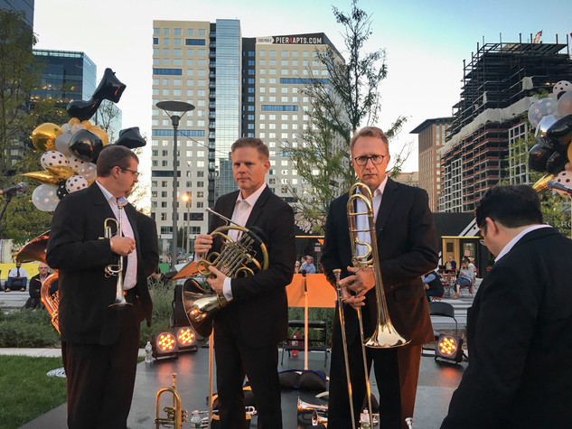 Boston Symphony Orchestra Brass Quintet at the Seaport