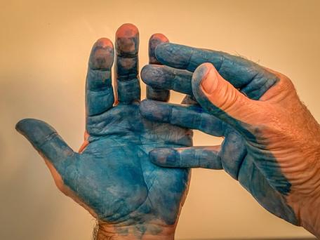 Hands In Blue
