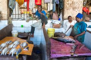 Darajani Bazaar Fish Sellers