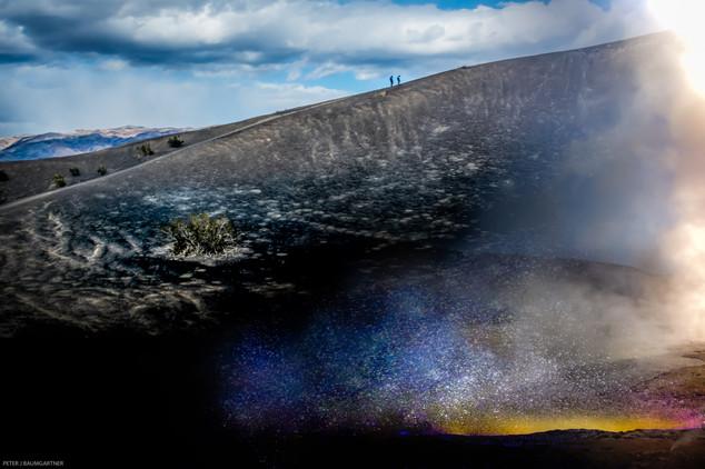 Climbing Volcano Crater