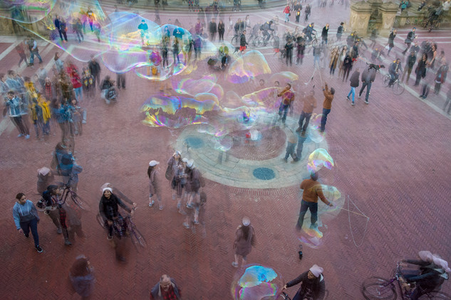 90 seconds with the Bubble Man