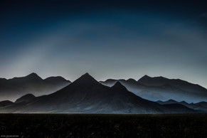 Evening Settles On The Amargosa Range