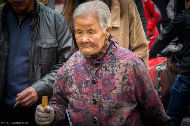Xian Market Woman