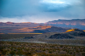 Evening Along The Road To Lone Pine