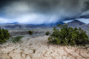 Thunder Squalls Over The Cottonwood Mountains
