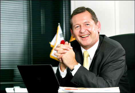 Josef S Meilinger, CEO of Siemens