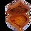 "Thumbnail: T129- Heart Shape Box, Beautiful Jewelry Cufflinks Box Thuya Burl5.9x5.1x1.9"""