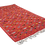 Thumbnail: R56- Stunning Red Moroccan Berber Rug Hand Embroidery.8.5x5.3 ft