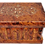 "Thumbnail: T34- Magical Box  inlaid with Silver and Mother of Pea7.5""x5""x4.5""// 20x13x12 cm"