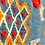 Thumbnail: R48-Amazing Blue Moroccan Berber Rug Hand Embroidered/ 8.2x4.5 ft