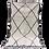 Thumbnail: R29- Genuine Moroccan Berber Beni Ouarain Rug 7.8x4.9 ftNatural wool