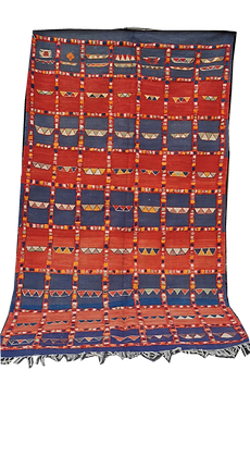 R56- Unique Large Moroccan Berber Rug made of Camel Hair8.5x4.8 ft