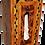 "Thumbnail: Inlaid Tissu Box, Thuya Burl Inlaid Inlaid with Walnut  10.2x5.5x3.9"""