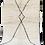 Thumbnail: R62- Beni Ouarain Moroccan Berber Rug. 100% wool. Hand wove 7.8x4.5 ft