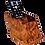 Thumbnail: T94- 2 Remote Control Holder Thuya Burl 6x3.10x3.5
