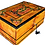 "Thumbnail: T32- 11.8x7.8x4.7""  Inlaid jewelry box. Thuya Burr and silver inlaid"