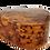 "Thumbnail: T29- Heart Shape Jewlery Box Thuya Burl 4.3x4.3x1.7""//11x11x4.5 cm"