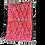 Thumbnail: R18- Pink Moroccan Rug Beni Oauarain.7.3x4.8 Natural Wool Tribal Berber Rug